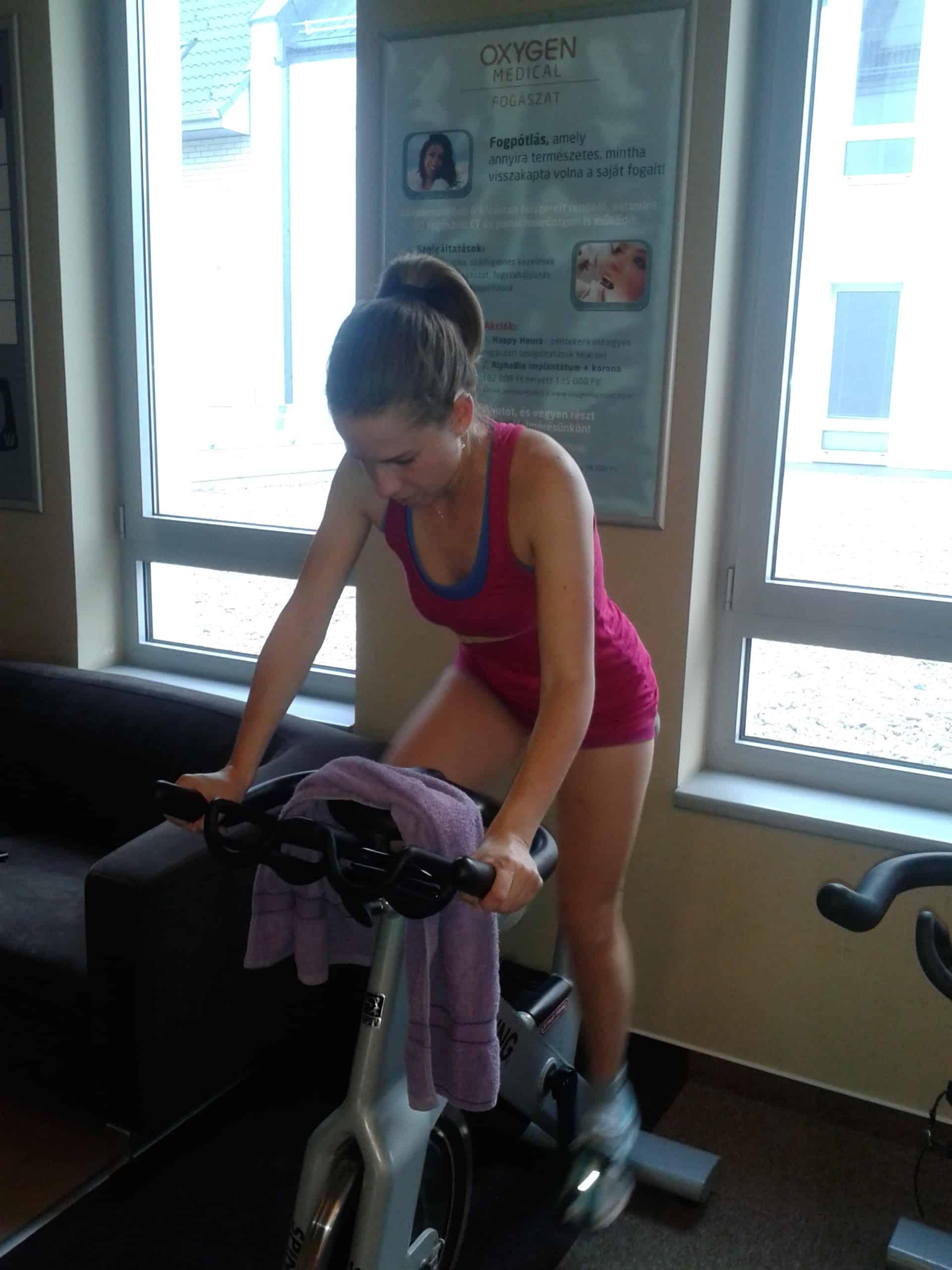 Kardió edzés Oxygen Wellnessben